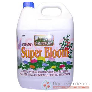 Guano Super Bloom 5L Organic Hydroponic Nutrient and Additive