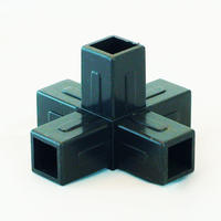 5 Way Junction for 25mm Aluminium Square Tube [25mm]