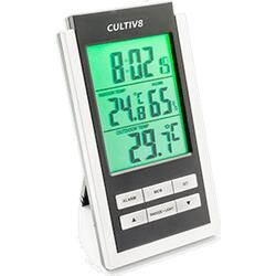 Cultiv8 Backlit Thermometer and Hygrometer