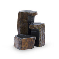 Keyed Basalt Columns Set 3